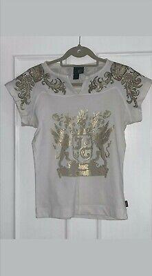 just cavalli Women shirt Size M 100% Cotton