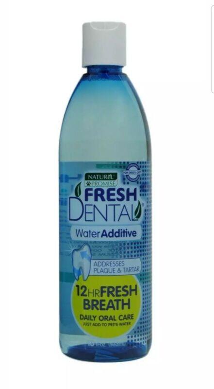 Fresh Dental 330078 18 Oz Fresh Dental Water Additive For Cats & Dogs