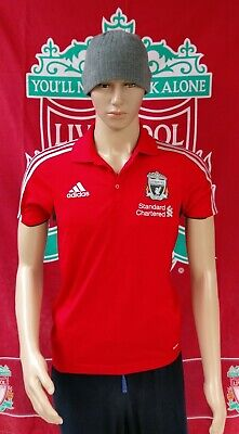 Liverpool Football Club Original Adidas Football Polo Shirt (Adult Small)