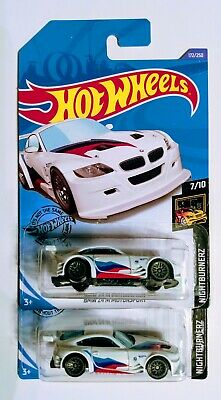 Lot Of 2 — 2020 Hot Wheels J Case- BMW Z4 M Motorsport 172/250 Nightburnerz