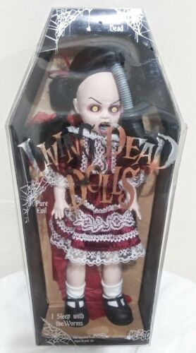 Rare Mezco Living Dead Dolls Toxic Molly Gas Mask Series 9 93014
