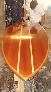 Hollow Wood Stand Up Paddleboard - wall hanger display Hillwood George Town Area Preview