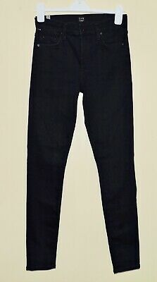 Citizens Of Humanity Skinny (CITIZENS OF HUMANITY ROCKET HIGH RISE SKINNY Womens Sz 28 Dark Indigo Jeans EXC)