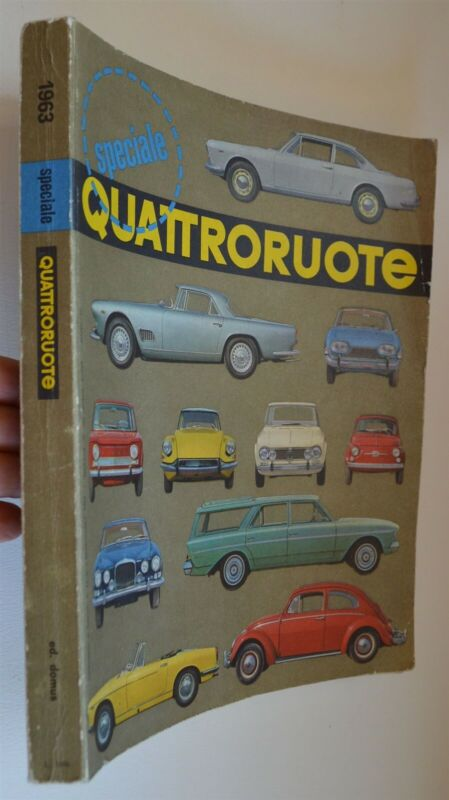 1963 Quattroruote Speciale Italian car & racing publication 388 pgs thick volume
