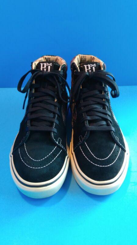Vans Old Skool Pearl Jam Sneakers Size 9 Men 10.5 Women Plaid/Black Rare