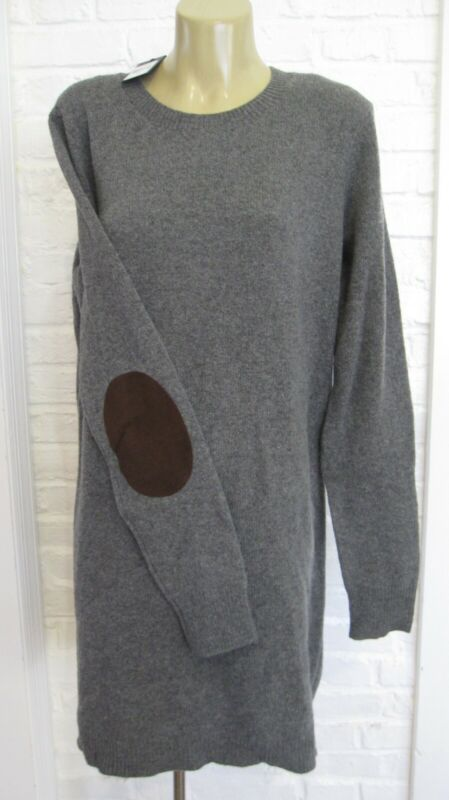 Ralph Lauren womens wool sweater dress~Gray~NWT~