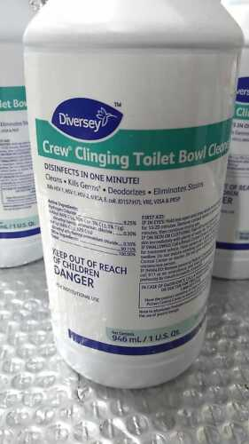 Diversey Crew Clinging Toilet Bowl Cleaner 32oz ~ Case of 12