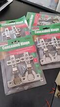 CONCEALED CABINET HINGES - 4 PACKS OF 2EA  $15 for the lot (8ea) Figtree Wollongong Area Preview