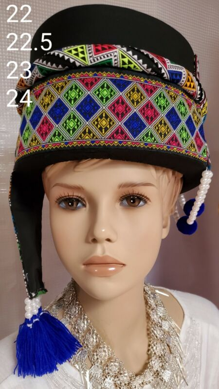 Brand New Beautiful Hmong Cos Hats.
