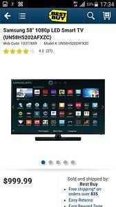 Samsung 58 inch HD LED Smart TV Brand new