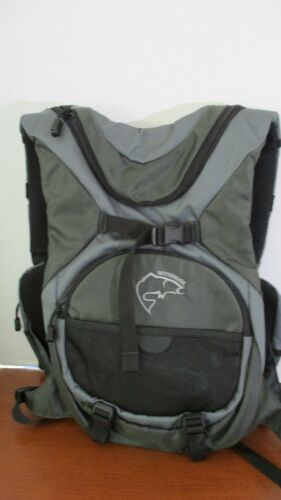 WATERMARK CADDIS FISHING PACK VEST~Gray~Waterproof~Breathable~Light Weight~NWT