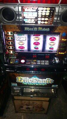 Nile Panic  Slot Machine ,Pachislo .  plus 200 Tokens