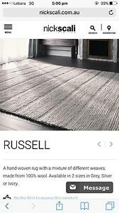Nick Scali rug 100% wool Liverpool Liverpool Area Preview