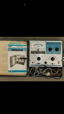Electronics Bk Model 465 Cathode Ray Tube Tester Working Good Condition