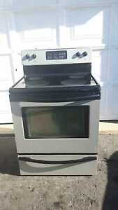 Frigidaire glass-top stove, free delivery