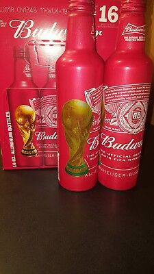Budweiser Aluminum Bottle Fifa World Cup 2018