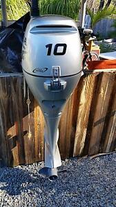 2011 10hp Honda four stroke tiller long shaft Logan Reserve Logan Area Preview