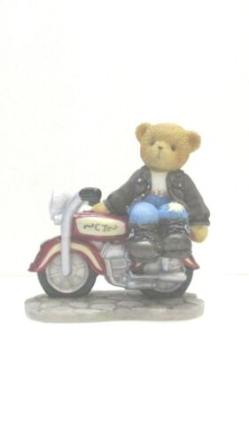AVON Cherished Teddies - Rocky  - On The Road Of Life  You