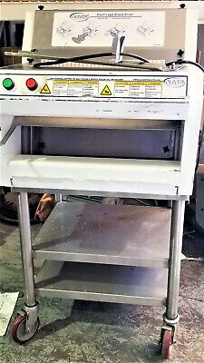 Oliver 732-n Bread Slicer Front Load Countertop With Stand Bager See Video 2