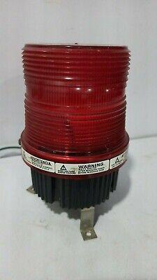 Federal Signal Fb2pst 120v 0.26a 5060 Hz Series B Red - Fireball 2 Usa