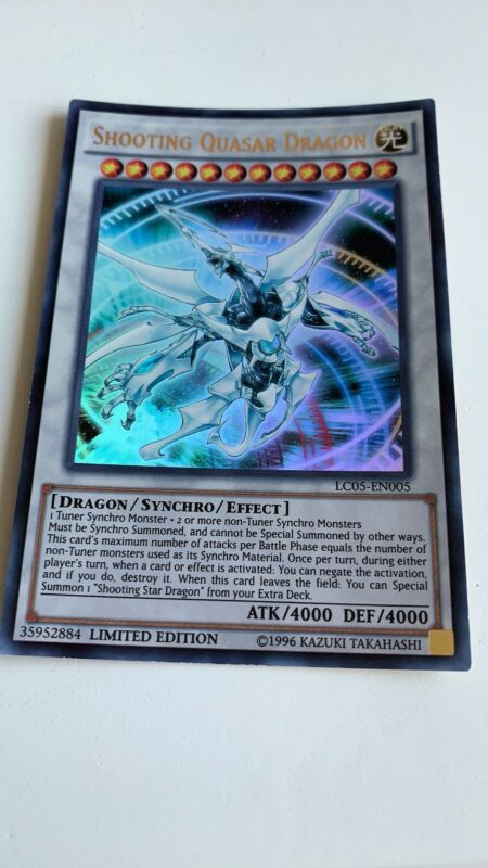 Shooting Quasar Dragon - Ultra Rare Limited - LC05-EN005 ...