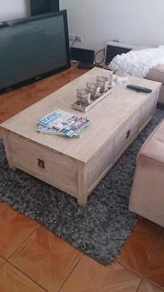 freedom cancun 4 drawer coffee table Heathridge Joondalup Area Preview
