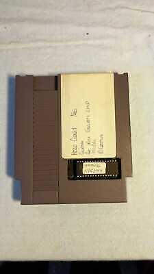 Nintendo NES Prototype of the unreleased game Hero Quest, grail, 100% running
