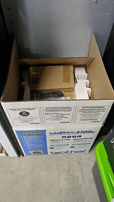 Brother 4100e Intellifax Plain Paper Laser Faxcopier. Pre-owned