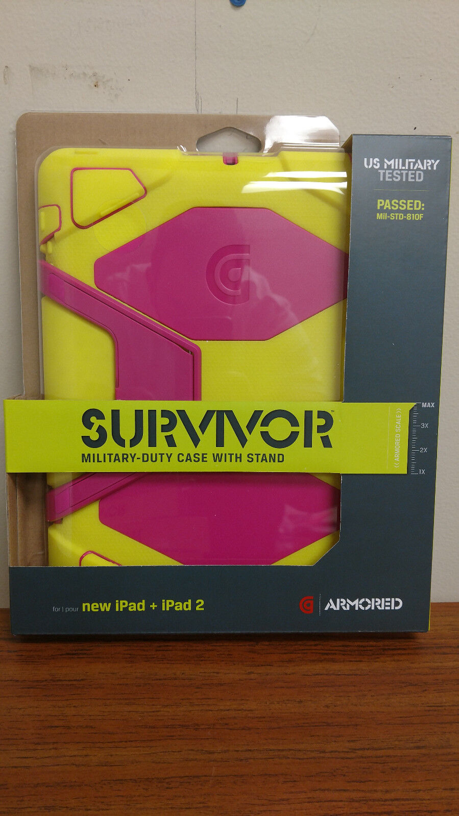 survivor case for apple ipad 2nd 3rd