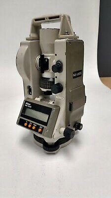 Nikon Ne-20sc Digital Electronic Theodolite Used