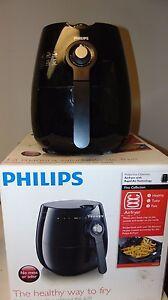 New - Open Box - Philips - Air Fryer Rapid Air Technology - (HD9220) - Black