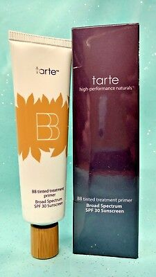 TARTE BB Cream Tinted Treatment 12hr Foundation Primer Makeup SPF 30 MEDIUM 1 oz