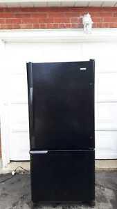 Black Kenmore Refrigerator, free delivery