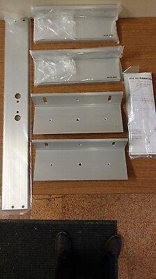 Tj92 Jamb 2 Plates For Inswg Door Locknetics