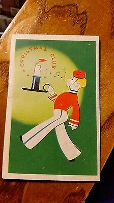 Greenbriar Valley Bank Christmas Club Booklet Lewisburg West Virginia
