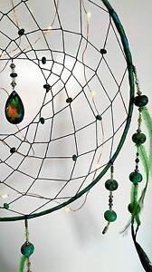 ~Handmade~ Green Chrysocolla Dreamcatcher North Lakes Pine Rivers Area Preview