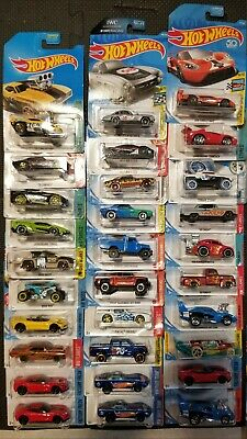 Hot Wheels Mainlines, different series,Lot Of 30.