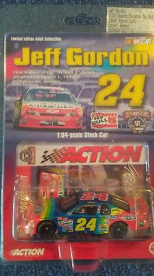 Jeff Gordon  24 Dupont Winston No Bull 1998 Monte Carlo 1 64 Car By Action