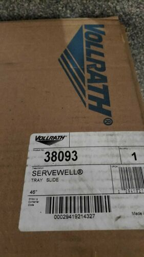 """Vollrath 38093 46 1/2"""" Plate Rest for ServeWell 3 Well / Pan Hot or Cold"""