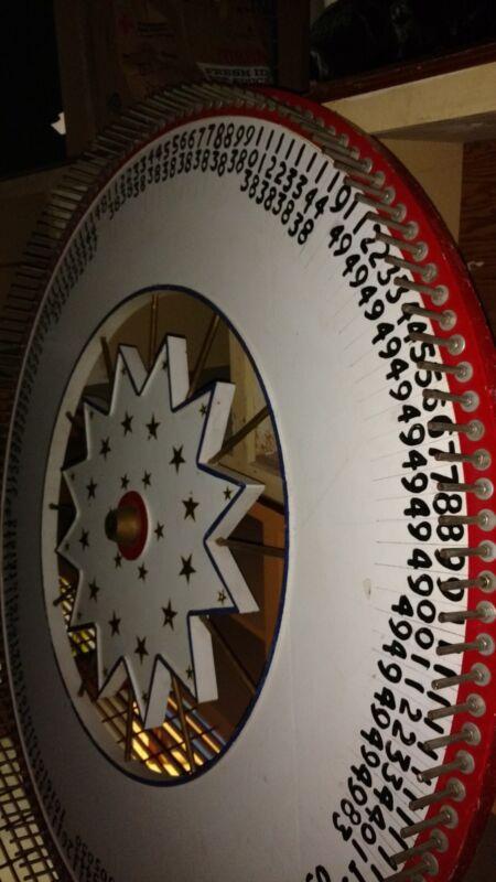 """""""Summer Social"""" gambling wheel - handmade"""