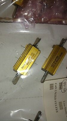25 Watt Resistor Dale Rw25 12 Ohm 1 25 Watt Resistor