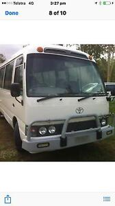 Toyota coaster 23 seater 2000 model Logan Reserve Logan Area Preview
