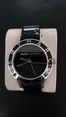 Marc Jacobs MBM1087 Women's Black Dial Leather Strap Quartz Watch