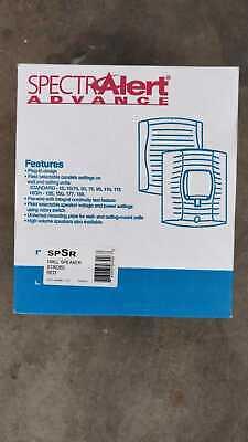 System Sensor Spsr Wall Mount Red Speaker Strobe Fire Alarm. New