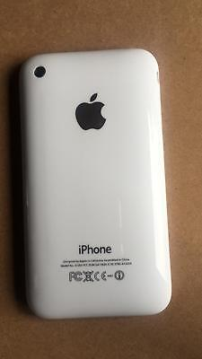 Battery Back Cover Housing Facia With Bazel Frame For IPhone 3GS White
