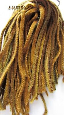 SALE Primitive Strips of 100% Rug Hooking Wool, Cut Sizes~#8 Sunflower Gold