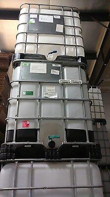 USED FOOD GRADE 275 gallon IBC Liquid Storage Totes , used for sale  Crookston
