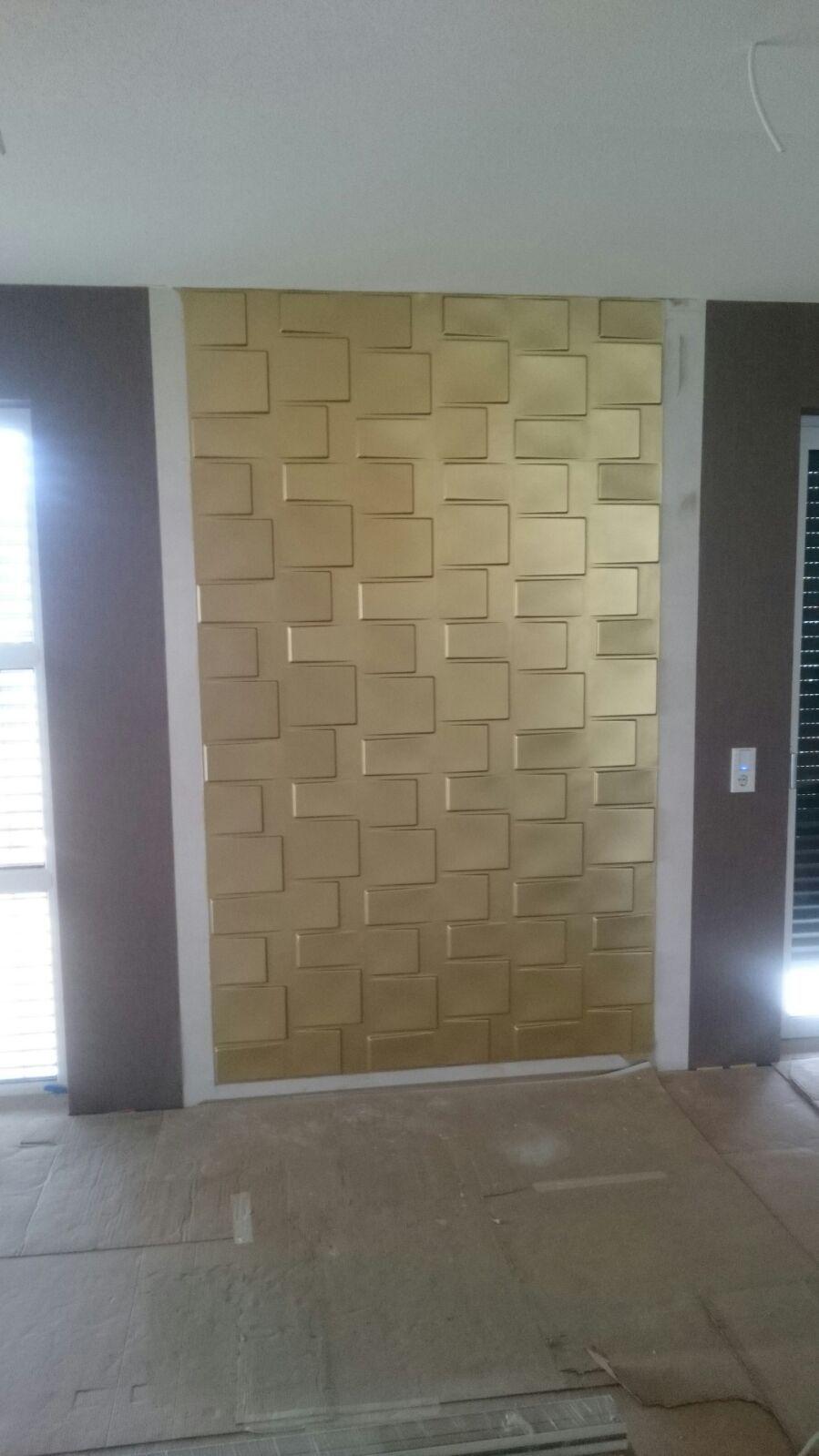 wandfarbe pur gold effekt wandeffekt kein glitter 1 liter gp 15 90 l eur 15 90. Black Bedroom Furniture Sets. Home Design Ideas