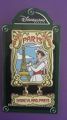 DISNEYLAND PARIS MARY POPPINS RETRO 2014 SERIES LE 600 HTF PIN
