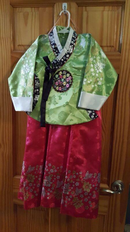Korean hanbok dress girls 5T